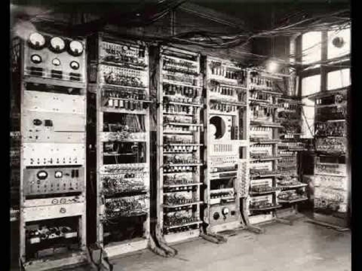 a history of the computer Twenty thousand vacuum tubes later the eniac computer is born and john mauchly and john presper eckert are the proud parents.