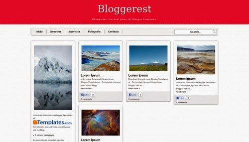 Bloggerest pinterest theme