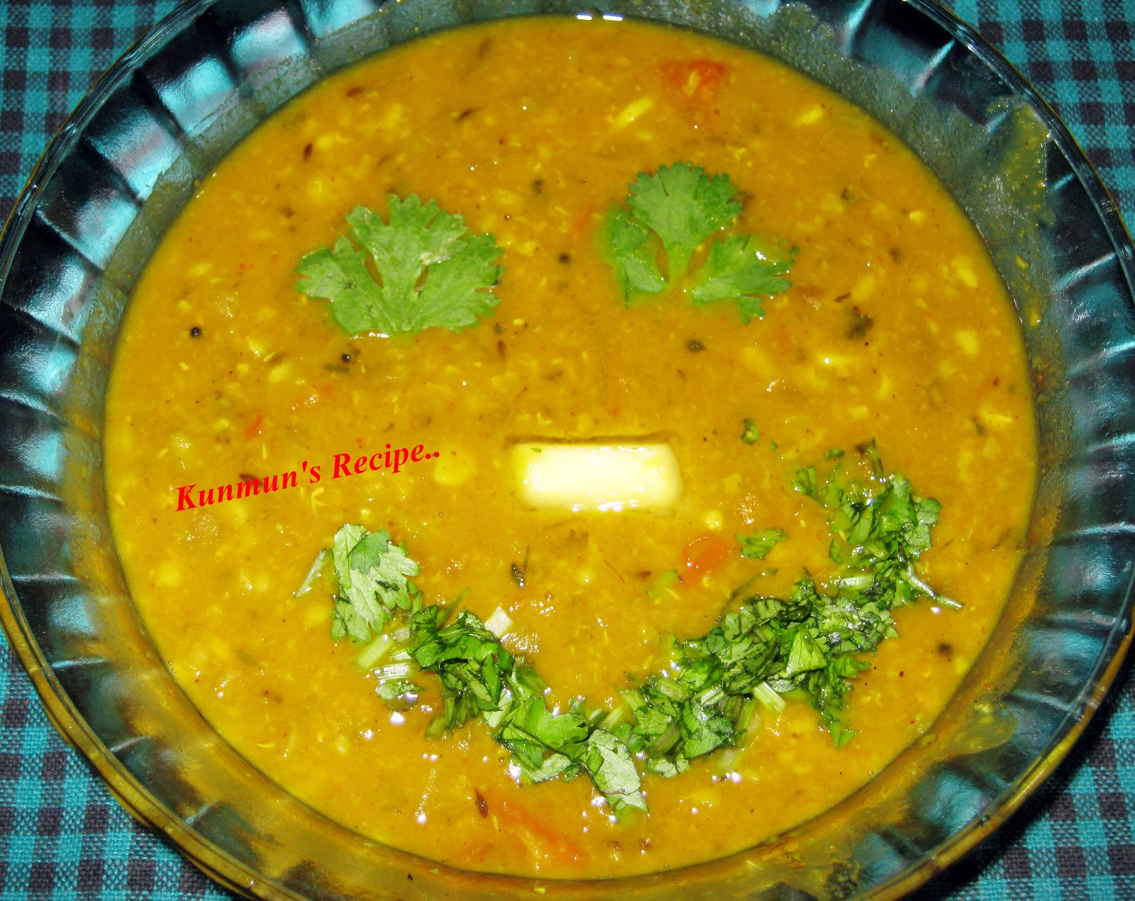 Kunmun's Delicious Kitchen: DAL TADKA RECIPE