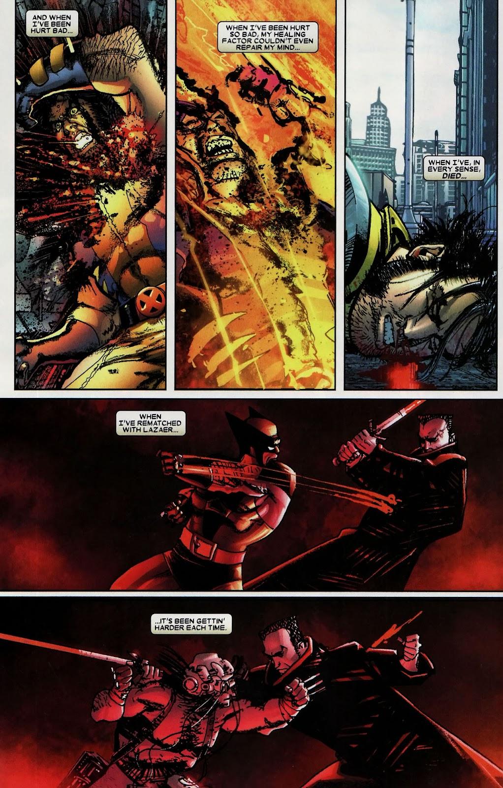 Read online Wolverine (2003) comic -  Issue #59 - 22
