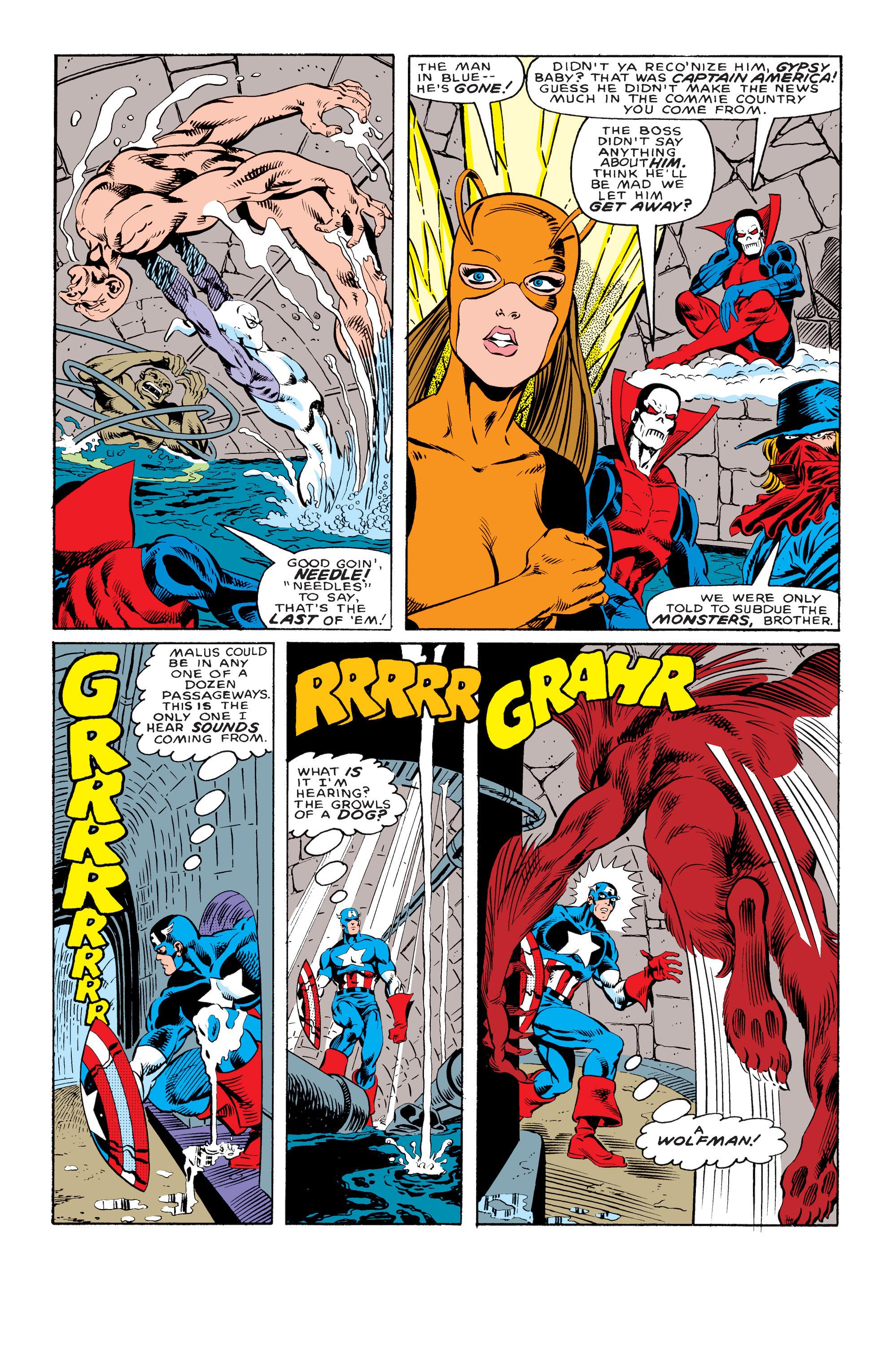 Captain America (1968) Issue #330 #259 - English 9
