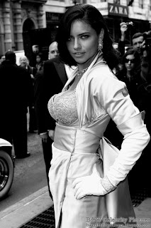Adriana Lima - B&W Victoria's Secrets $2 million bra show off - picture 5
