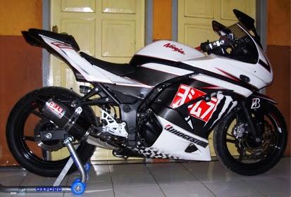 Rincian Harga Aksesoris Kawasaki Ninja 250 Terbaru 2015