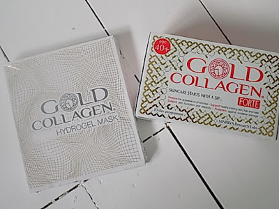 Gold Collagen Hydragel mask review