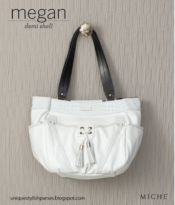 Miche Megan Demi Snow White Pebble Shell
