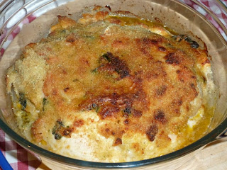 Peito de frango recheado com queijo