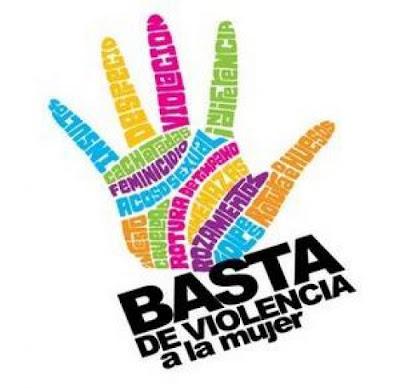 imagen basta violencia maltrato mujer