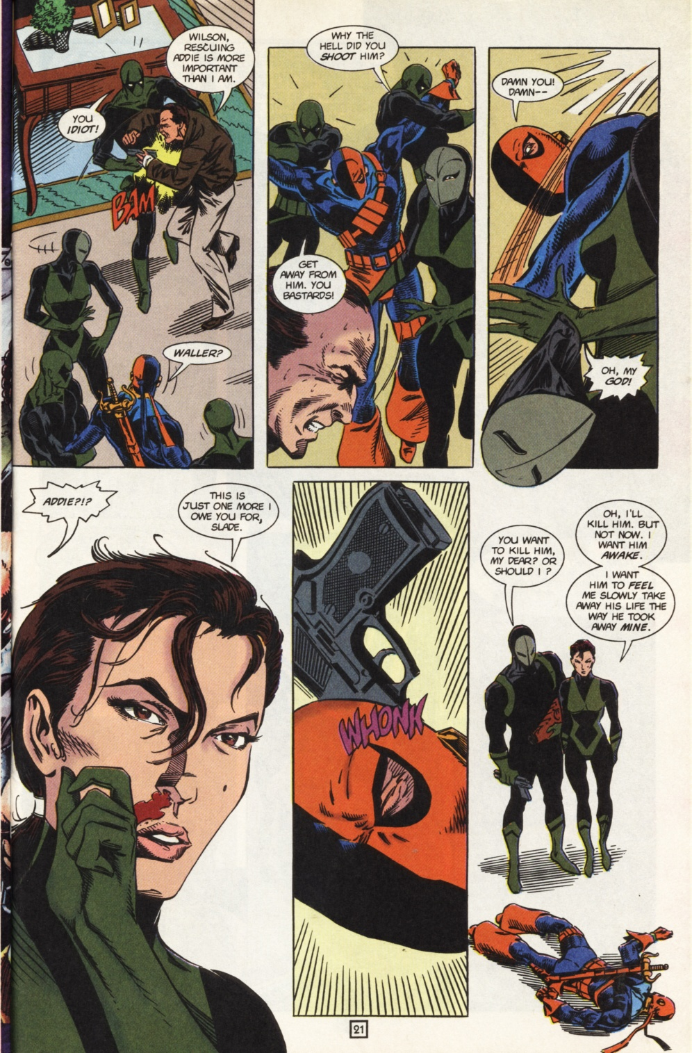 Deathstroke (1991) Issue #31 #36 - English 22