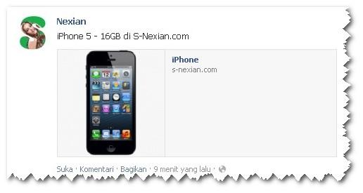 Nexian koq Jualan iPhone, Blackberry, dan Samsung Galaxy ???