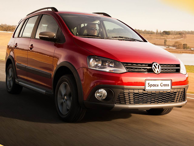 VW SpaceCross 2014 - garantia de 3 anos