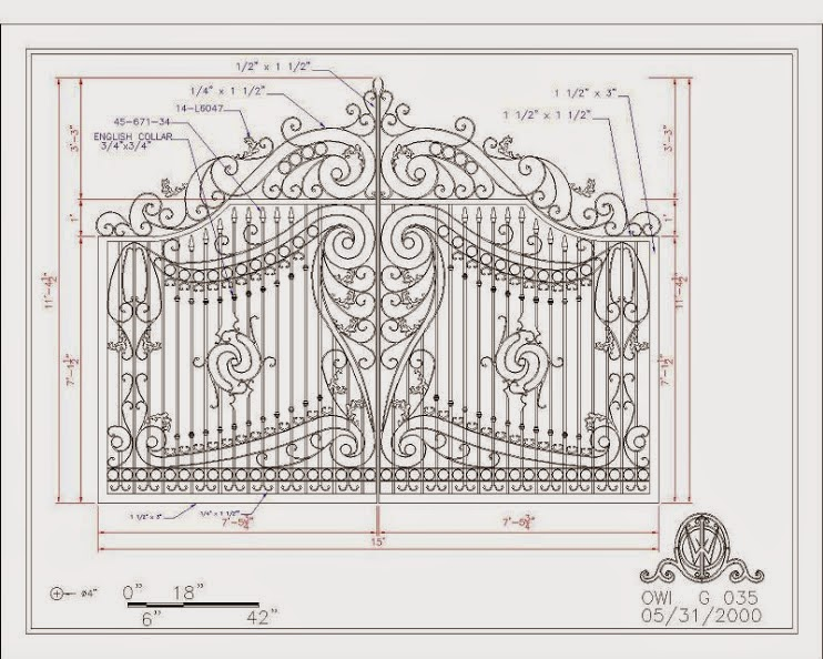 Designs portes métalliques