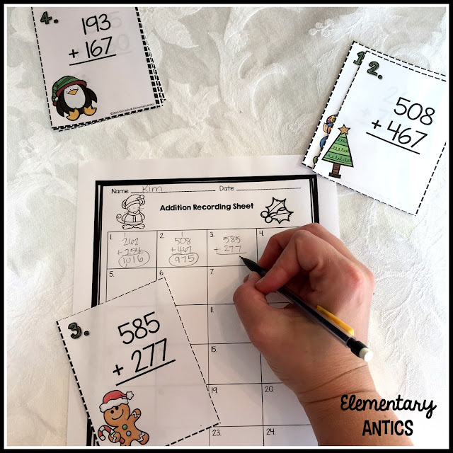 https://www.teacherspayteachers.com/Product/Christmas-Scoot-Addition-Task-Cards-2182694
