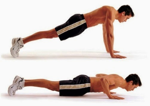 Tips push up, sit up, back up dan pull up dengan benar! ~ hnca