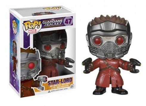 Bobble Head POP Guardians of the Galaxy Star Lord