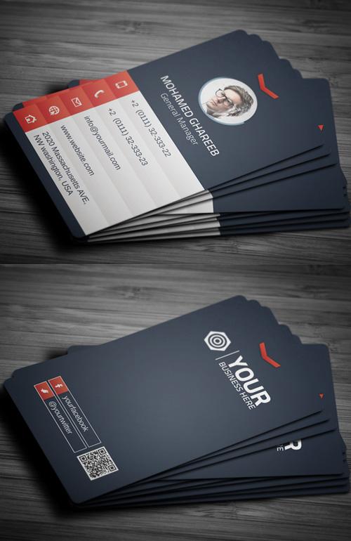 tarjeta de presentación elegantes