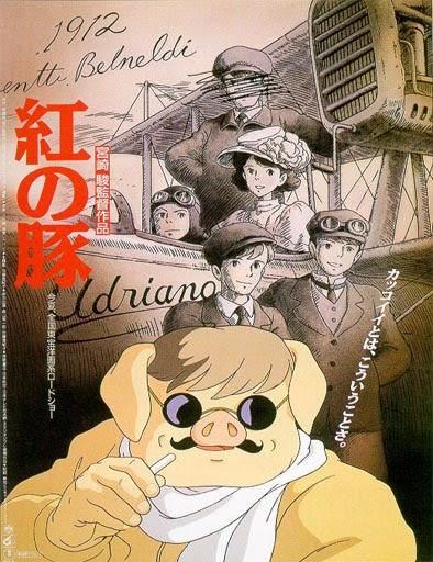 Ver Kurenai no Buta (Porco Rosso) (1992) Online