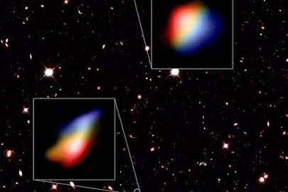 کشف دو کهکشان بالغ در روزگار کودکی کیهان