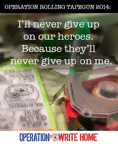 I'll never give up on our heroes.