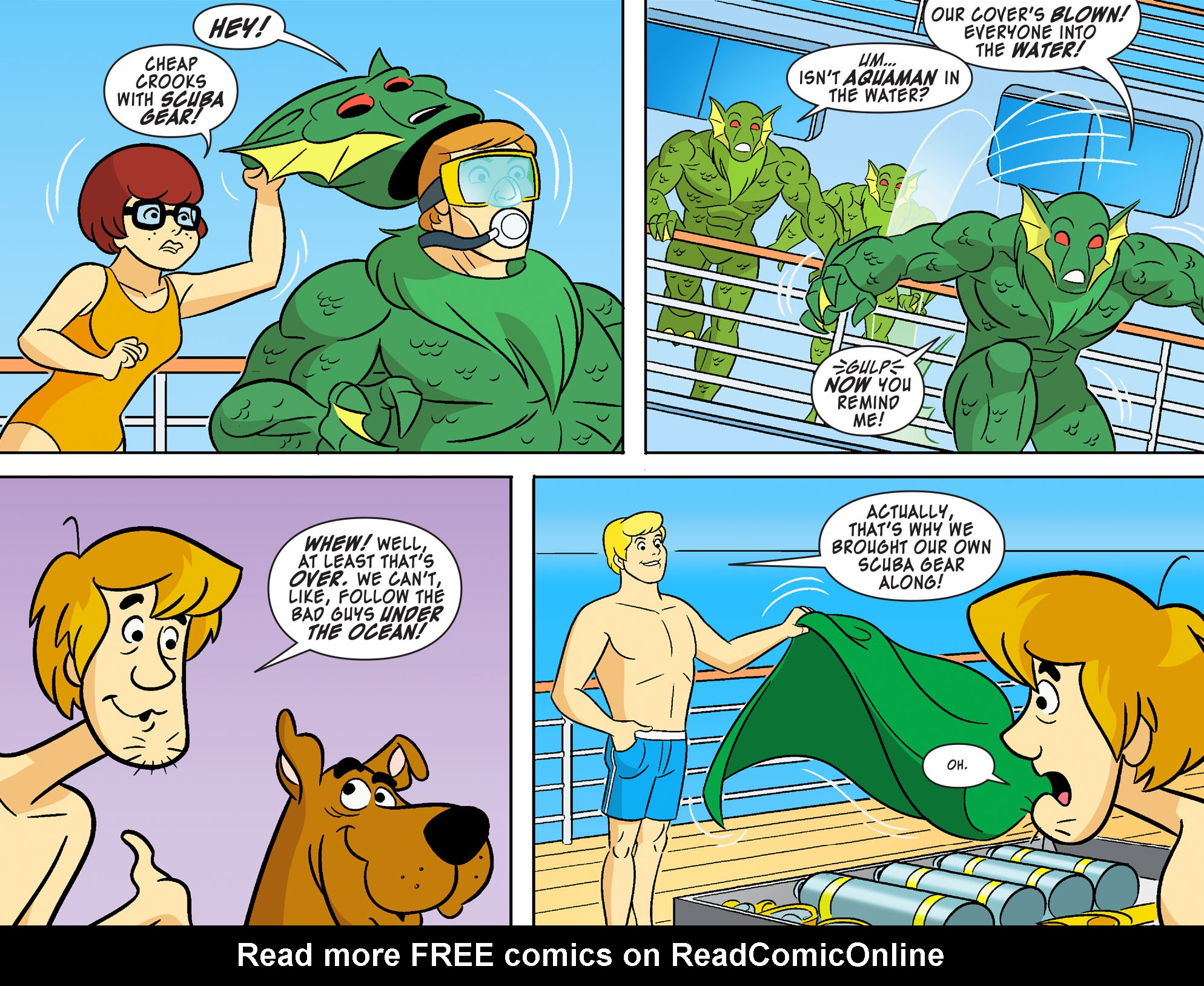 Read online Scooby-Doo! Team-Up comic -  Issue #27 - 13