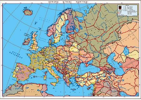 Avrupa Siyasi Haritas�