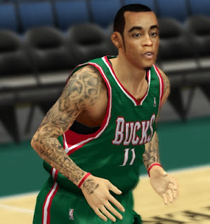 NBA 2K13 Monta Ellis Cyber Face Mod Update