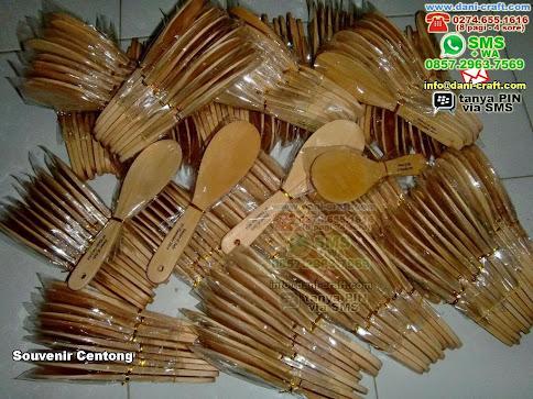 Souvenir Centong Kayu Lamongan