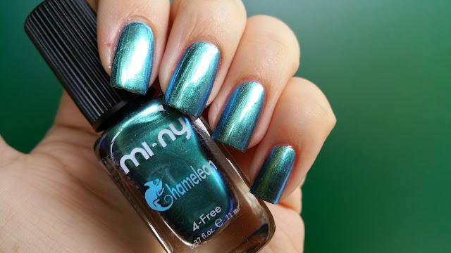 turquoise blue - Chameleon Mi-Ny 03