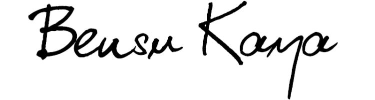 Bensu Kaya