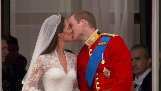 royal wedding 2011 flag. Royal Wedding Kiss 2011.