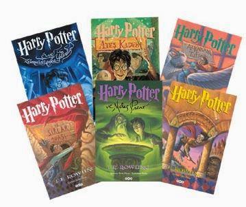 Harry potter kitapları 7 adet türkçe pdf indir
