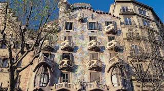 Дом Костей. Барселона