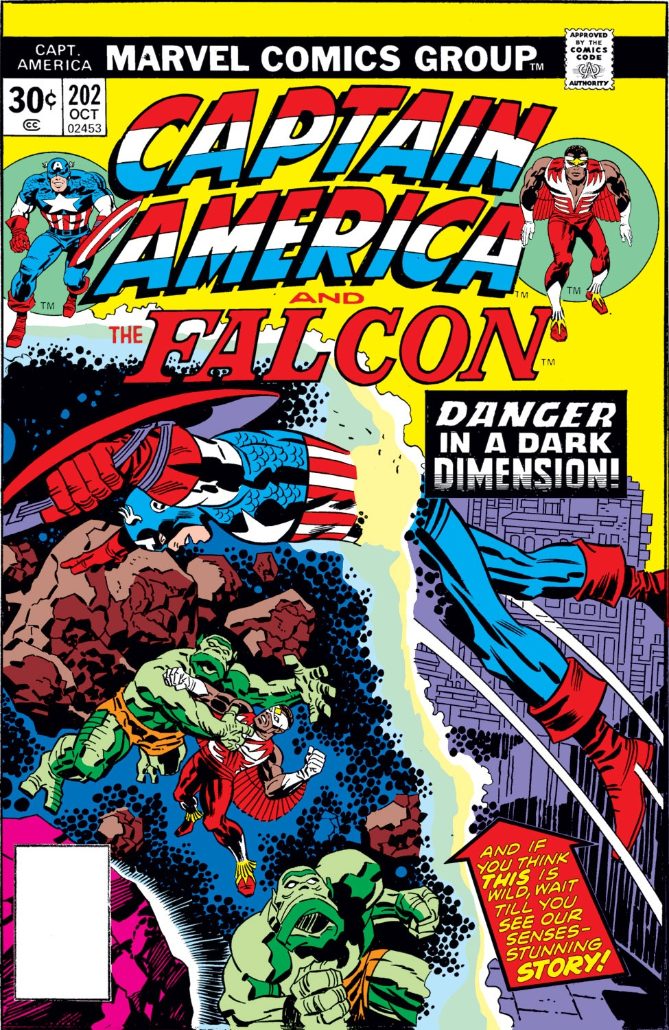 Captain America (1968) Issue #202 #116 - English 1