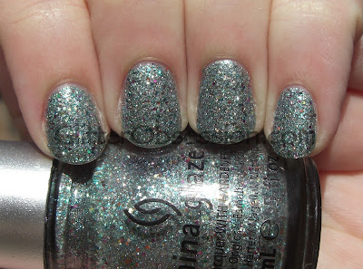 china glaze prismatic chromaglitters, china glaze optical illusion, china glaze optical illusion swatch, china glaze optical illusion nails, china glaze optical illusion nail swatch, china glaze optical illusion manicure, china glaze prismati chroma glitters swatch