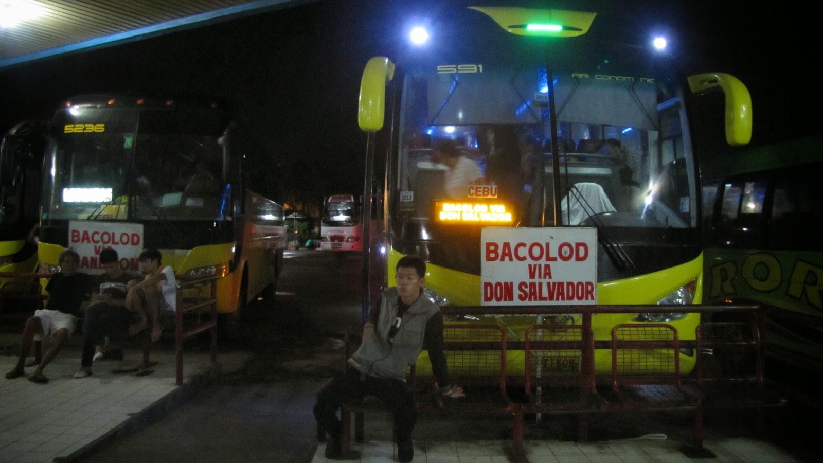 bacolod, cebu north terminal, cebu-bacolod, ceres bus