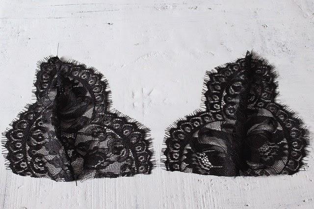 Как сделать кружевное белье своими руками без машинки