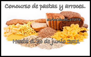 CONCURSO PASTAS Y ARROCES.