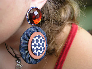 crafty jewelry: diy cute earrings tutorial
