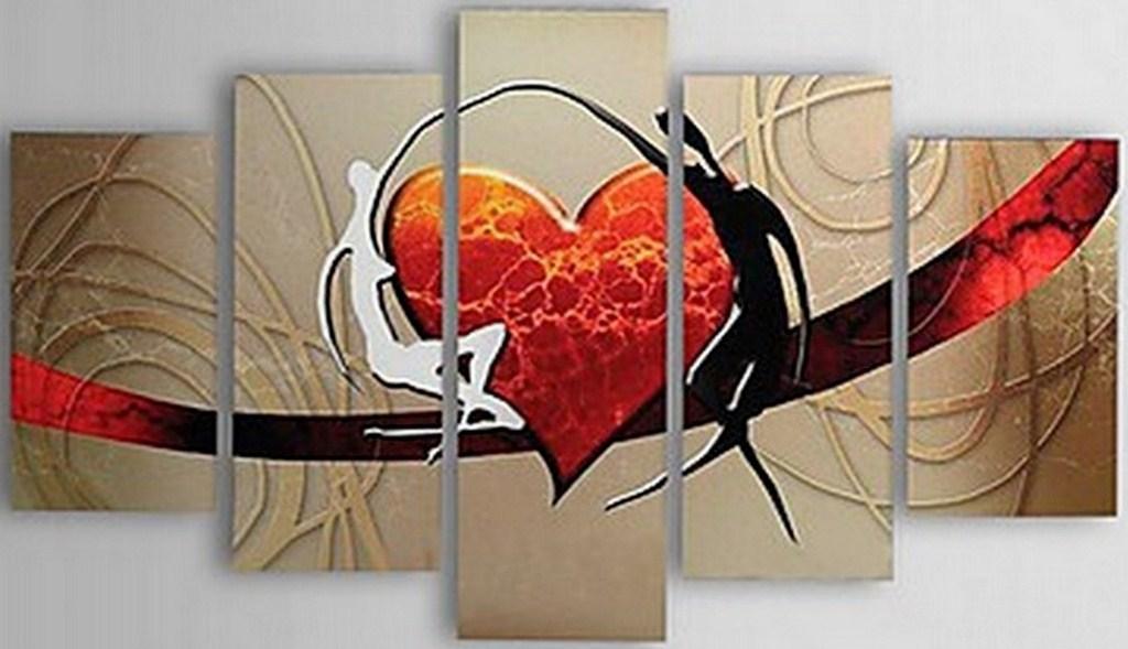 Im genes arte pinturas cuadros modernos acrilico for Imagenes de cuadros abstractos faciles de hacer