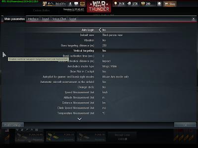 War Thunder - Vertical Targeting