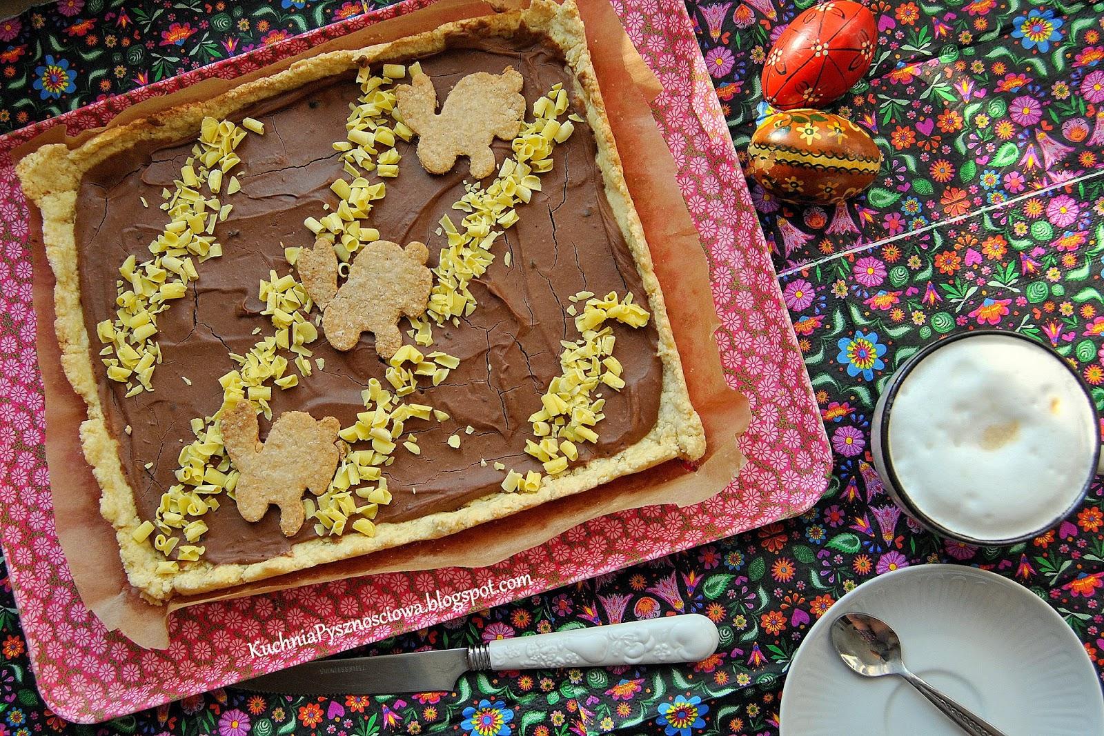 317. Mazurek z czekoladą , jałowcem i rozmarynem