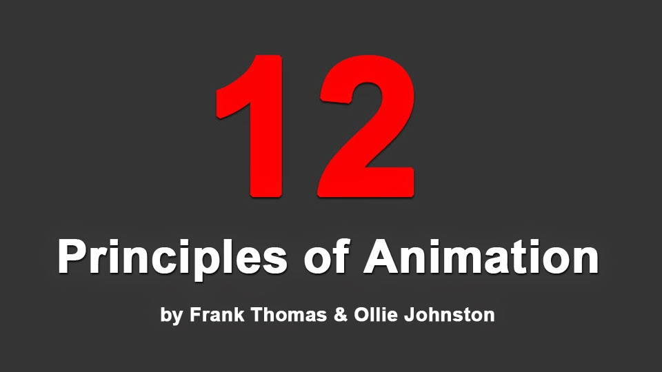 12 Principles of Animation by Frank Thomas and Ollie Johnston