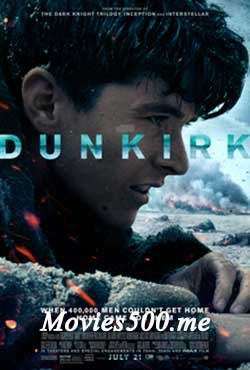 Dunkirk 2017 English Full Movie BRRip 720p 1GB at freedomcopy.com