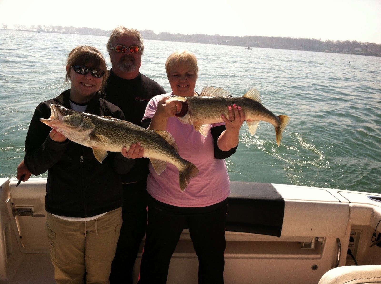 Lake erie walleye fishing reports walleyes continue with for Lake erie walleye fishing report