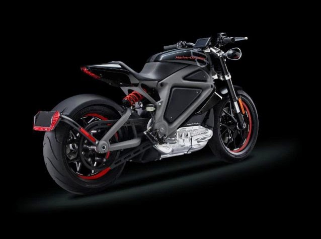 Harley-Davidson Electric Motorcycle (Credit: Harley-Davidson Motor Company) Click to enlarge.