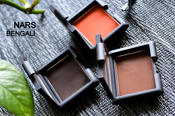 NARS Bengali Matte Single Eyeshadow Swatch Makeup Look Review