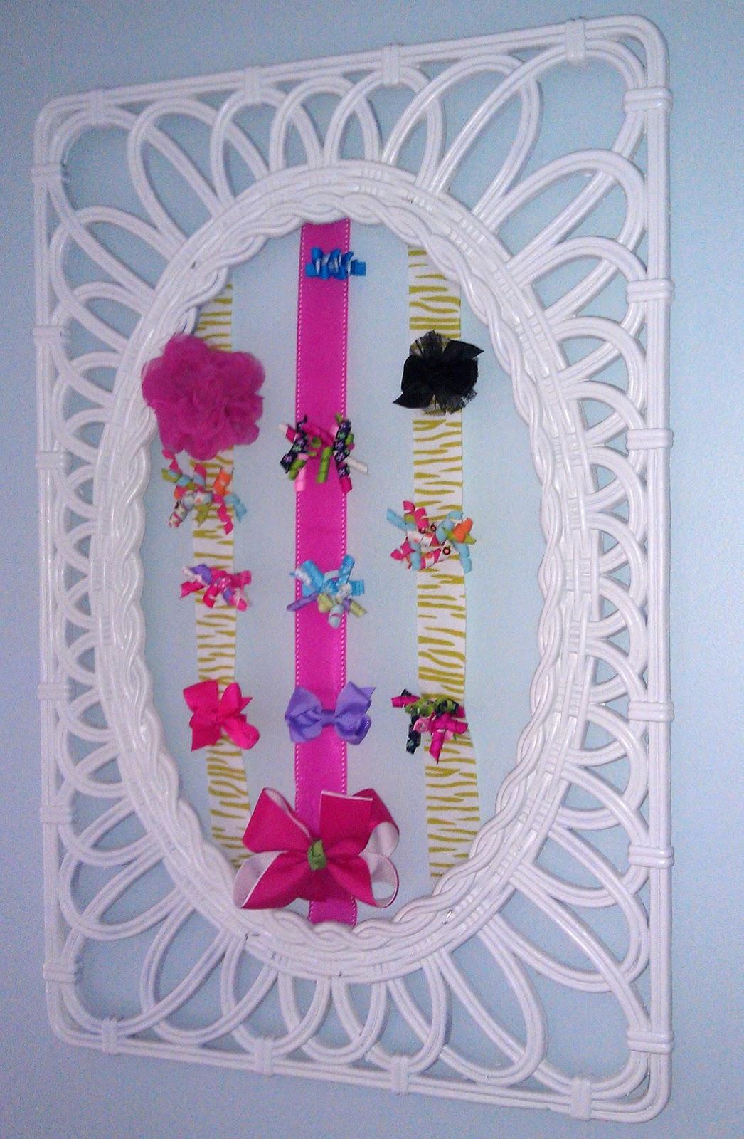 How to organize hair bows - Organizing Hair Accessories