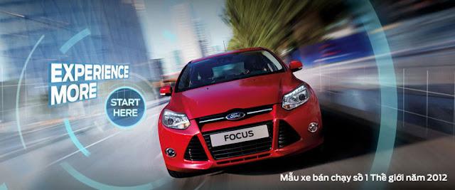 Bảng giá xe ô tô Ford 2015 mới nhất thị Việt Nam