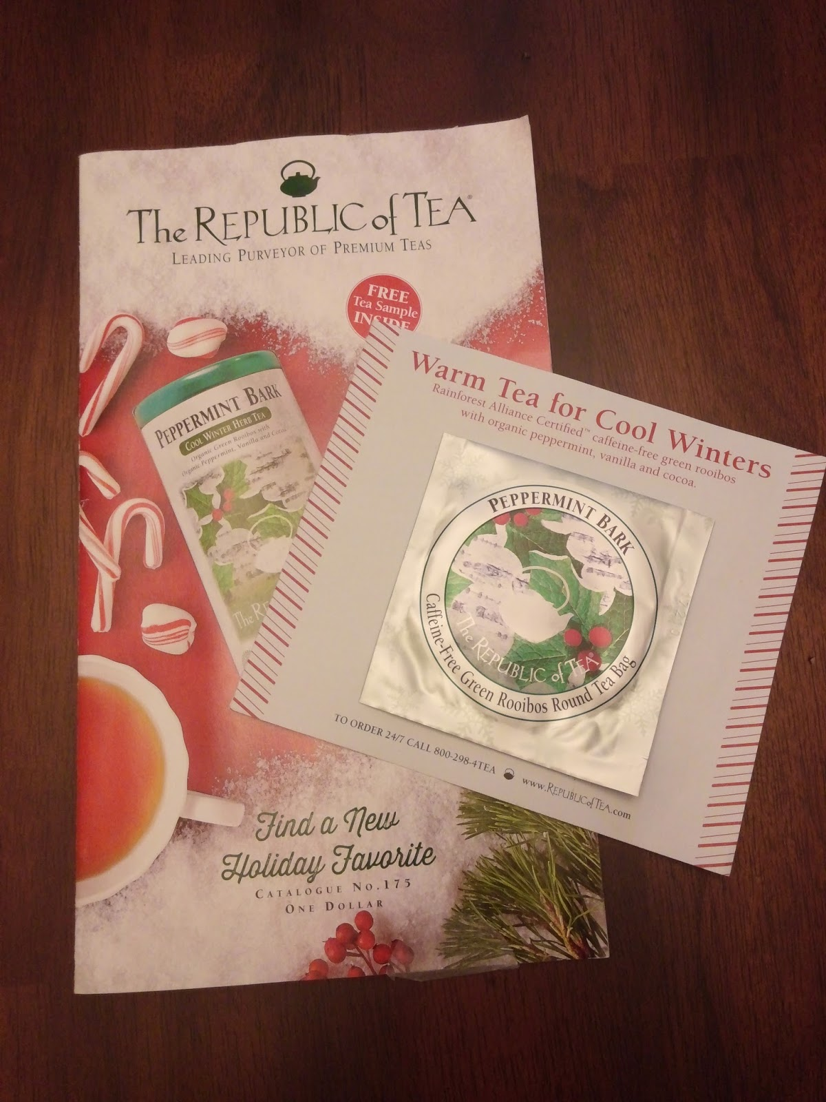 Niki's Picks: The Republic of Tea - FREE Sample and Fangirling