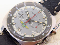 STURMANKSIE CHRONOGRAPH GREY DAL - MANUAL WINDING CAL 31659