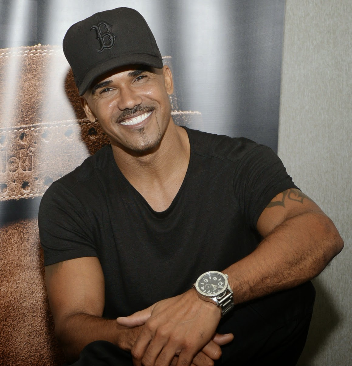The 47-year old son of father Sherrod Moore and mother  Marilyn Wilson, 185 cm tall Shemar Moore in 2017 photo